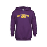 Youth Purple Fleece Hoodie-San Francisco State