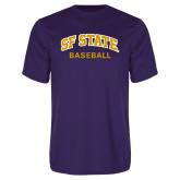 Syntrel Performance Purple Tee-Baseball