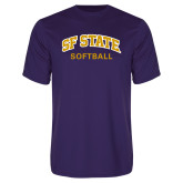 Syntrel Performance Purple Tee-Softball
