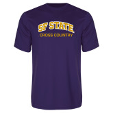 Performance Purple Tee-Cross Country