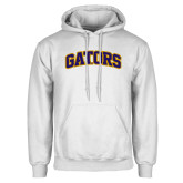 White Fleece Hoodie-Gators