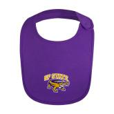 Purple Baby Bib-Primary Mark
