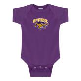 Purple Infant Onesie-Primary Mark
