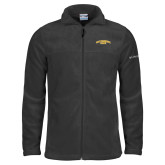 Columbia Full Zip Charcoal Fleece Jacket-San Francisco State