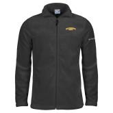 Columbia Full Zip Charcoal Fleece Jacket-San Francisco State