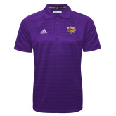 Adidas Climalite Purple Jaquard Select Polo-Primary Mark