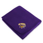 Purple Arctic Fleece Blanket-Primary Mark