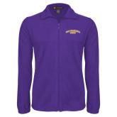 Fleece Full Zip Purple Jacket-San Francisco State