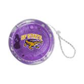 Light Up Purple YoYo-Primary Mark