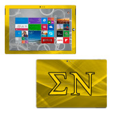 Surface Pro 3 Skin-Greek Letters