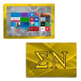 Surface Pro 3 Skin-Greek Letters