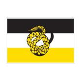 Medium Decal-Sigma Nu Flag, 8 inches wide