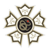 Large Decal-Badge, 12 inches wide