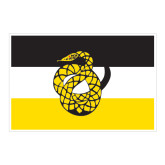 Large Decal-Sigma Nu Flag, 12 inches wide