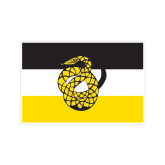 Extra Small Decal-Sigma Nu Flag, 4.5 inches wide