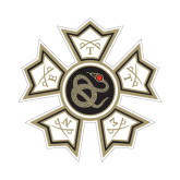 Small Decal-Badge, 6 inches wide
