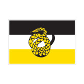 Small Decal-Sigma Nu Flag, 6 inches wide