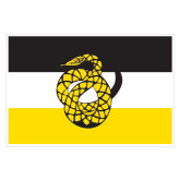 Extra Large Decal-Sigma Nu Flag, 18 inches wide