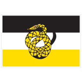 Super Large Decal-Sigma Nu Flag, 24 inches wide