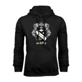 Black Fleece Hoodie-Coat Of Arms