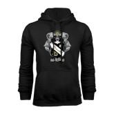 Black Fleece Hoodie-Coat Of Arms