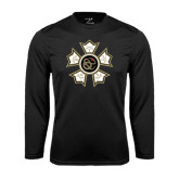 Syntrel Performance Black Longsleeve Shirt-Badge