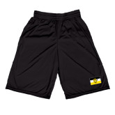 Russell Performance Black 9 Inch Short w/Pockets-Sigma Nu Flag