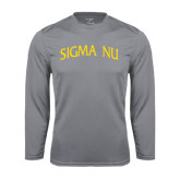 Performance Steel Longsleeve Shirt-Arched Sigma Nu