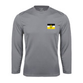 Performance Steel Longsleeve Shirt-Sigma Nu Flag