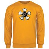 Gold Fleece Crew-Badge