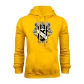 Gold Fleece Hoodie-Coat Of Arms