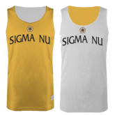 Gold/White Reversible Tank-Sigma Nu