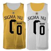 Gold/White Reversible Tank-Sigma Nu Personalized
