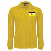 Fleece Full Zip Gold Jacket-Sigma Nu Flag