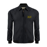 Black Players Jacket-Greek Letters w/ Trim