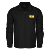 Full Zip Black Wind Jacket-Sigma Nu Flag