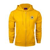 Champion Gold Fleece Full Zip Hood-Badge