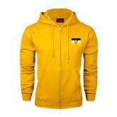 Champion Gold Fleece Full Zip Hood-Sigma Nu Flag