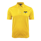 Gold Dry Mesh Polo-Sigma Nu Flag