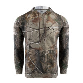 Realtree Camo Fleece Hoodie-Greek Letters