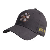 Charcoal Heavyweight Twill Pro Style Hat-Badge