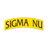 Small Magnet-Arched Sigma Nu, 6 inches wide