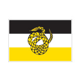 Small Magnet-Sigma Nu Flag, 6 inches wide