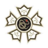 Medium Magnet-Badge, 8 inches wide