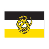 Medium Magnet-Sigma Nu Flag, 8 inches wide