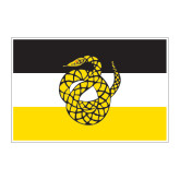 Large Magnet-Sigma Nu Flag, 12 inches wide