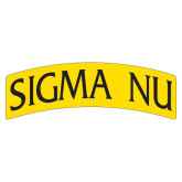 Extra Large Magnet-Arched Sigma Nu, 18 inches wide