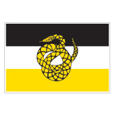 Extra Large Magnet-Sigma Nu Flag, 18 inches wide