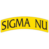 Super Large Magnet-Arched Sigma Nu, 24 inches wide