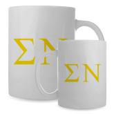 Full Color White Mug 15oz-Badge